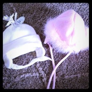 Other - Baby girl lot of 2 winter hats